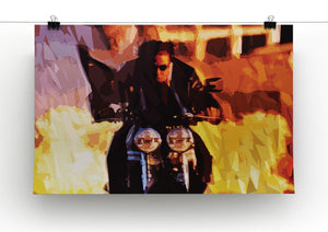 Tom Cruise in Mission Impossible Print - Canvas Art Rocks - 2