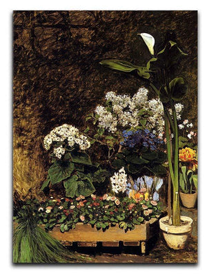 Mixed Spring Flowers by Renoir Canvas Print or Poster  - Canvas Art Rocks - 1