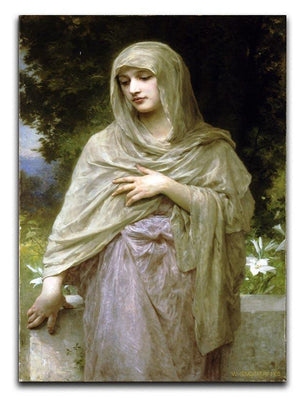 Modestie By Bouguereau Canvas Print or Poster  - Canvas Art Rocks - 1