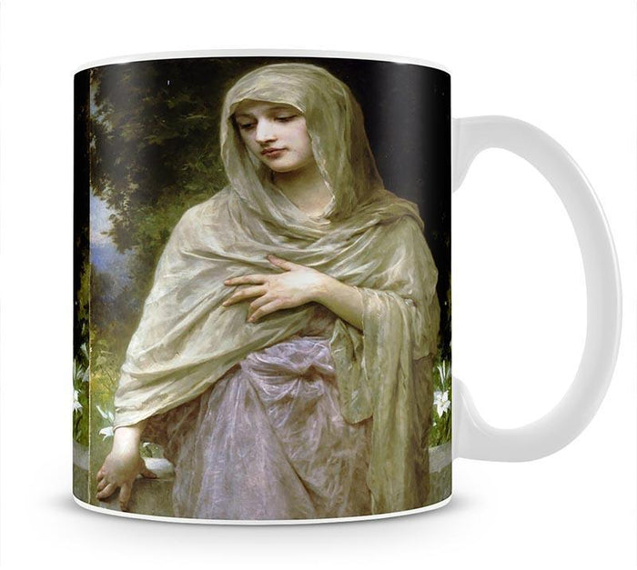 Modestie By Bouguereau Mug