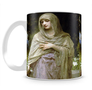 Modestie By Bouguereau Mug - Canvas Art Rocks - 2