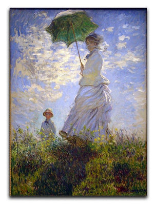 Monet Umbrella Canvas Print & Poster  - Canvas Art Rocks - 1