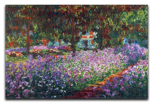 Monet's garden in Giverny by Monet Canvas Print & Poster  - Canvas Art Rocks - 1