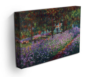 Monet's garden in Giverny by Monet Canvas Print & Poster - Canvas Art Rocks - 3