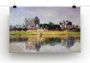 Monets garden in Vetheuil by Monet Canvas Print & Poster - Canvas Art Rocks - 2