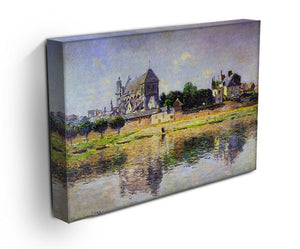 Monets garden in Vetheuil by Monet Canvas Print & Poster - Canvas Art Rocks - 3