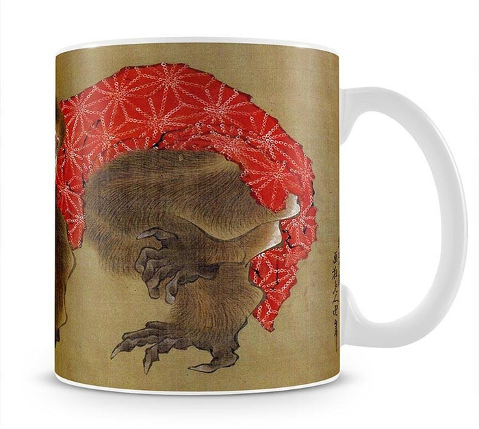 Monkey by Hokusai Mug