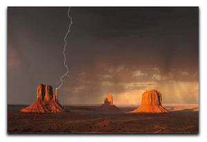 Monument Valley Print - Canvas Art Rocks - 1