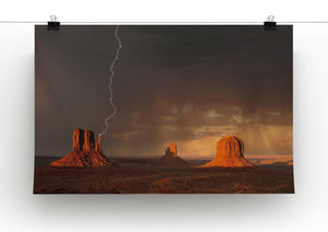 Monument Valley Print - Canvas Art Rocks - 2