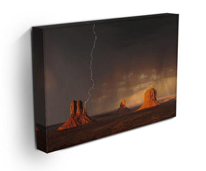Monument Valley Print - Canvas Art Rocks - 3