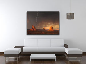 Monument Valley Print - Canvas Art Rocks - 4