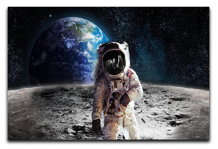 Moon Walk Canvas Print or Poster
