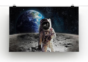 Moon Walk Print - Canvas Art Rocks - 2