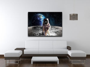 Moon Walk Print - Canvas Art Rocks - 4