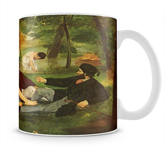 Morning Break by Manet Mug