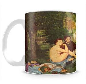Morning Break by Manet Mug - Canvas Art Rocks - 2