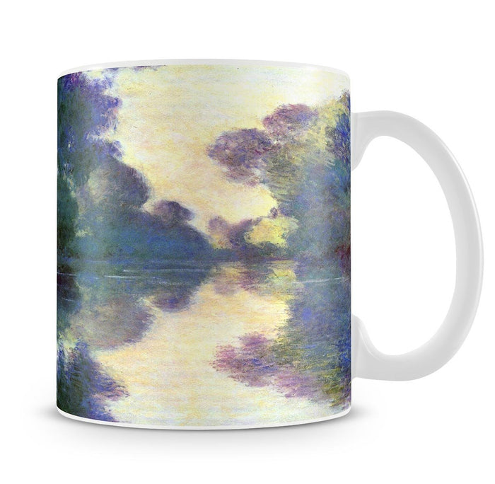 Morning on the Seine at Giverny by Monet Mug