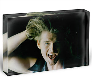Morten Harket Acrylic Block - Canvas Art Rocks - 1