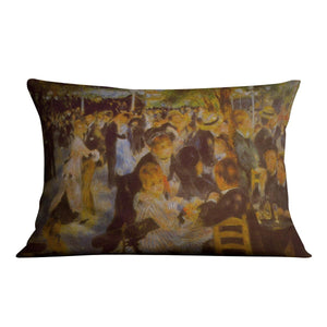Moulin Galette by Renoir Throw Pillow