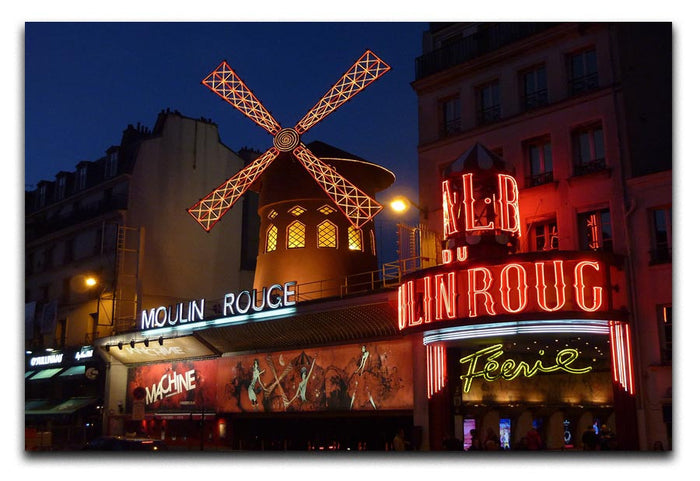 Moulin Rouge Canvas Print or Poster