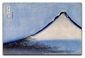 Mount Fuji 2 by Hokusai Canvas Print or Poster  - Canvas Art Rocks - 1