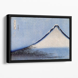Mount Fuji 2 by Hokusai Floating Framed Canvas