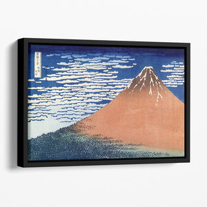 Mount Fuji by Hokusai Floating Framed Canvas
