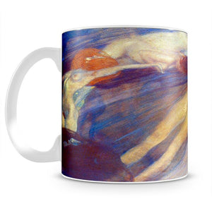 Moving water by Klimt Mug - Canvas Art Rocks - 2