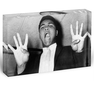 Muhammad 8 rounds Acrylic Block - Canvas Art Rocks - 1