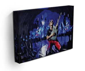 Matt Bellamy from Muse Print - Canvas Art Rocks - 3
