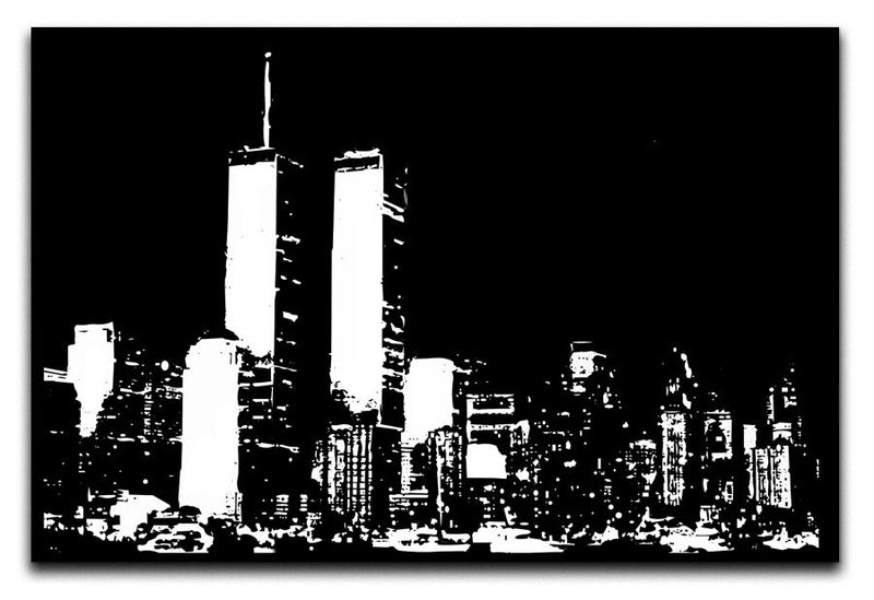 New York Sky Print - Canvas Art Rocks - 1