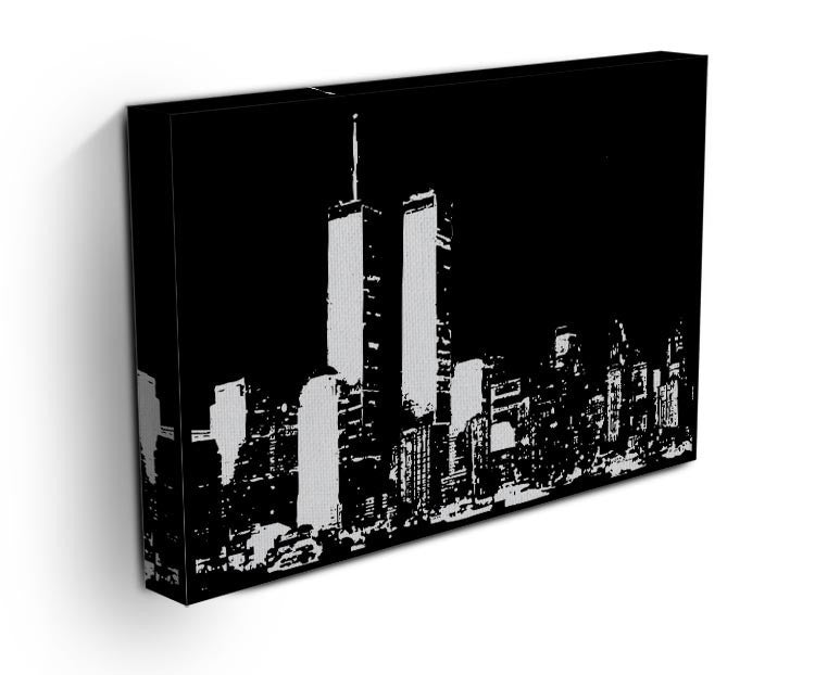 New York Sky Print - Canvas Art Rocks - 3