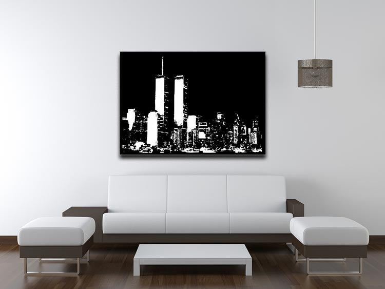 New York Sky Print - Canvas Art Rocks - 4