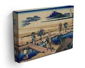 Nakahara in the Sagami province by Hokusai Canvas Print or Poster - Canvas Art Rocks - 3
