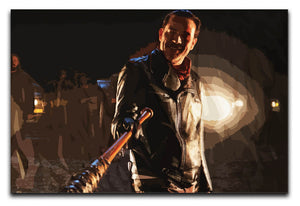 Negan The Walking Dead Canvas Print or Poster - Canvas Art Rocks