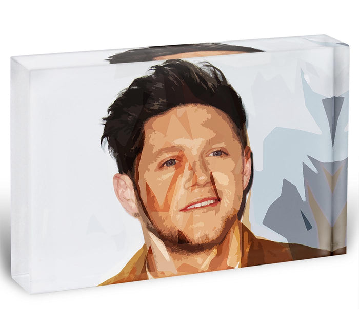 Niall Horan of One Direction Pop Art Acrylic Block