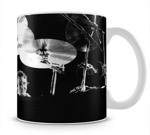 Nick Mason of Pink Floyd Mug - Canvas Art Rocks - 1