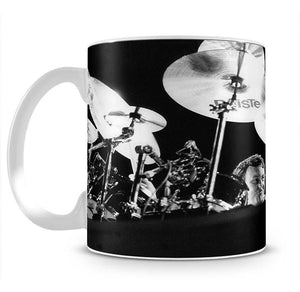 Nick Mason of Pink Floyd Mug - Canvas Art Rocks - 2