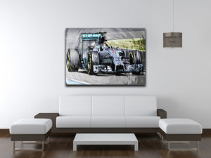 Nico Rosberg Formula 1 Print - Canvas Art Rocks - 4