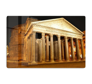 Night view of Pantheon Rome HD Metal Print