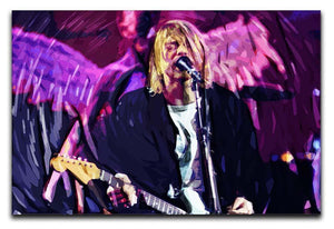 Nirvana Kurt Cobain Canvas Print or Poster  - Canvas Art Rocks - 1