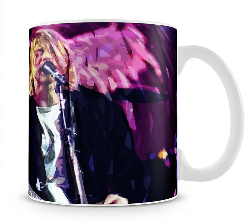 Nirvana Kurt Cobain Cup - Canvas Art Rocks - 1