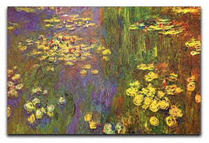 Nympheas water plantes Canvas Print & Poster  - Canvas Art Rocks - 1