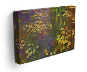 Nympheas water plantes Canvas Print & Poster - Canvas Art Rocks - 3