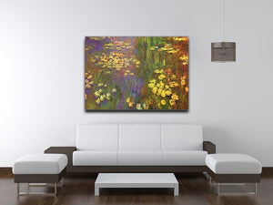 Nympheas water plantes Canvas Print & Poster - Canvas Art Rocks - 4