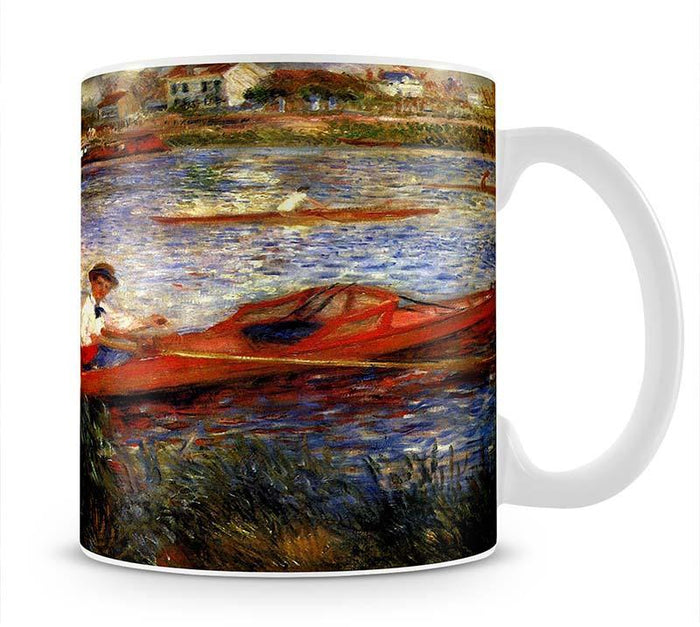 Oarsman of Chatou by Renoir Mug