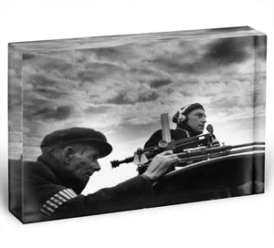 Observer listening post Acrylic Block - Canvas Art Rocks - 1