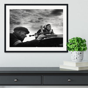 Observer listening post Framed Print - Canvas Art Rocks - 1
