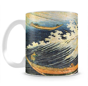 Ocean landscape 2 by Hokusai Mug - Canvas Art Rocks - 2