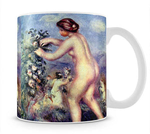 Ode to flower after Anakreon by Renoir Mug - Canvas Art Rocks - 1